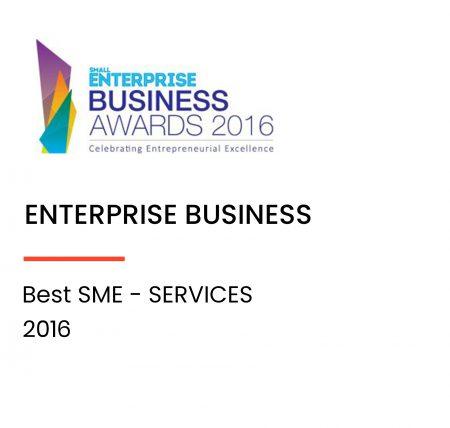 Best SME - Services award 2016