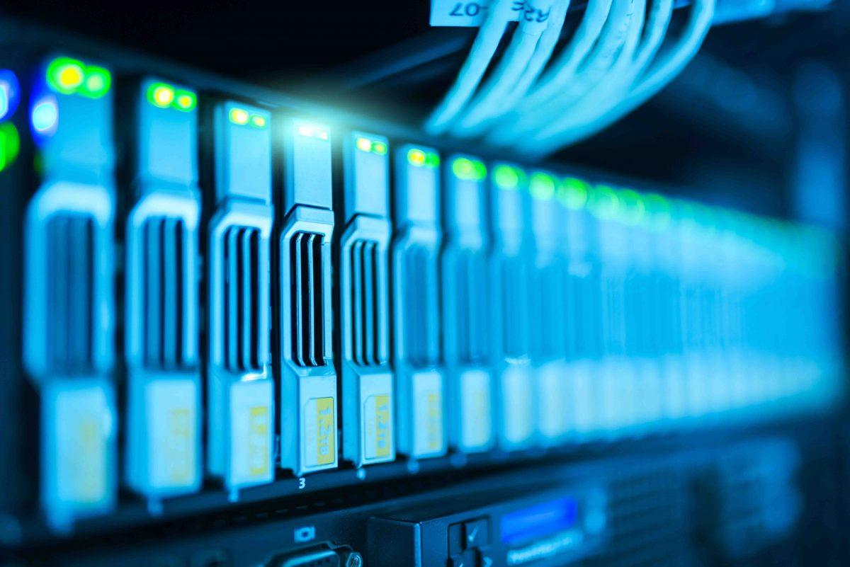 image of data servers